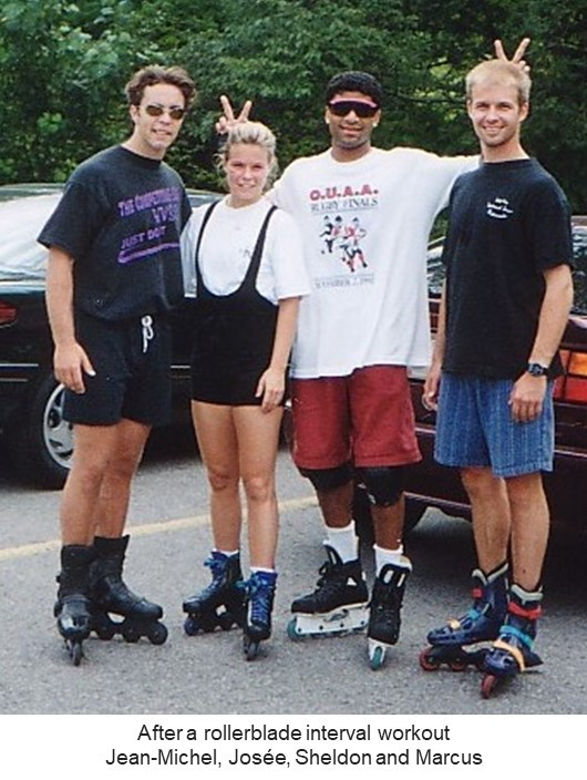 Josee_pix_rollerblading_2 Stories and Sharing from our 30 years - Personal Best
